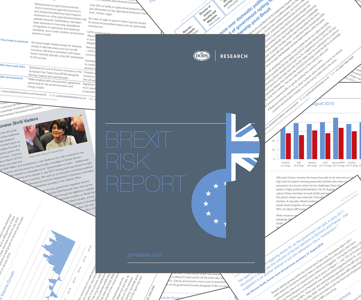 Brexit risk report